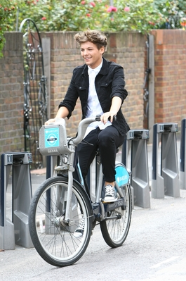 AUG 22ND - LIAM AND LOUIS RIDING BIKES