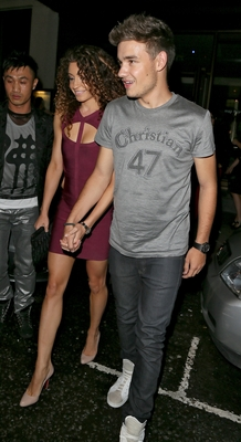 AUG 25TH - LEAVING LIAM&#39;S BIRTHDAY BASH AT FUNKY BUDDHA - one-direction Photo