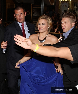 AUGUST 21ST - Arriving At 2012 Fanta Irresistible Awards - demi-lovato Photo