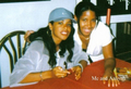 Aaliyah with a fan :) - aaliyah photo