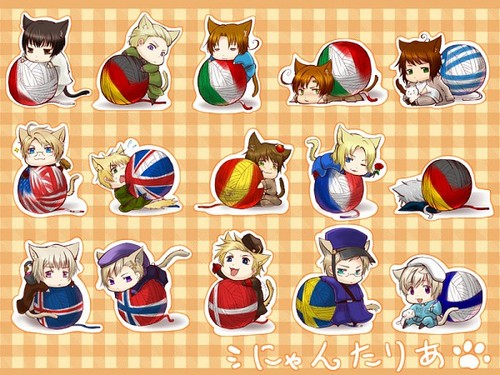 Adorable Neko Nations <3