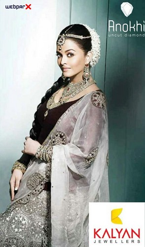 Aishwarya Rai Photoshoot for Kalyan Jewellers
