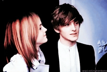 Alex and Emma Watson for Burberry