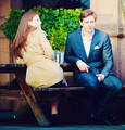 Allen Leech & Amy Nuttall  - allen-leech photo