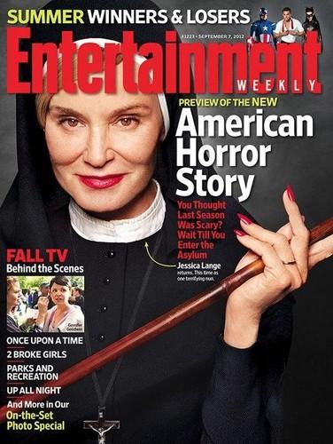 American Horror Story - Season 2 - EW Magazine Cover