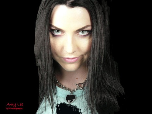 Amy Lee karatasi la kupamba ukuta probably with a portrait called Amy <3