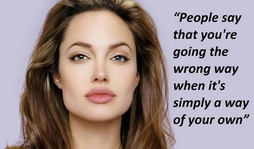 Angelina Jolie wallpaper with a portrait titled Angei's quotes