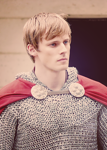 Arthur Pendragon Looking Pensive and Yes Gorgeous
