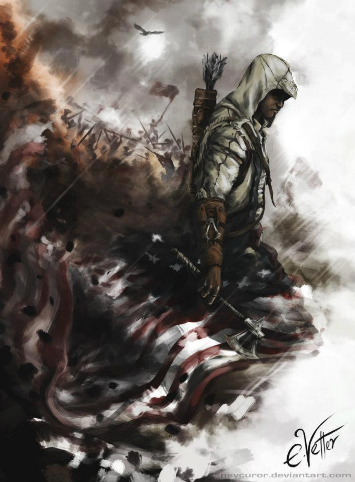 Assassin S Creed 3 The Assassin S Fan Art 31951894 Fanpop