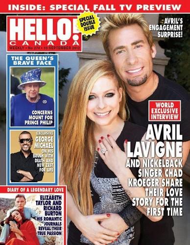Avril & Chad !