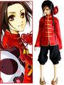 Axis Power Hetalia China Wang Yao Cosplay Costume
