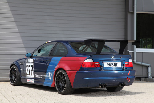 bmw E46 M3 CSL por MR CAR diseño