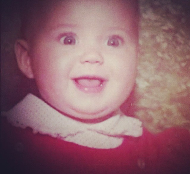 Baby Katy, so cute <3