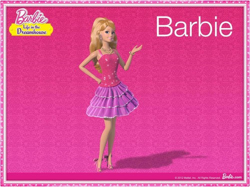 Barbie: Life in the Dreamhouse achtergrond entitled Barbie Life In The Dream House
