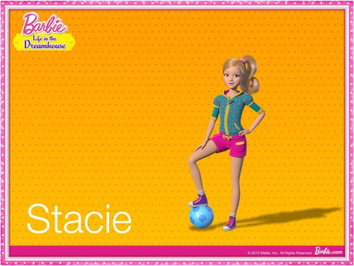 Barbie: Life in the Dreamhouse karatasi la kupamba ukuta called Barbie Life In The Dream House