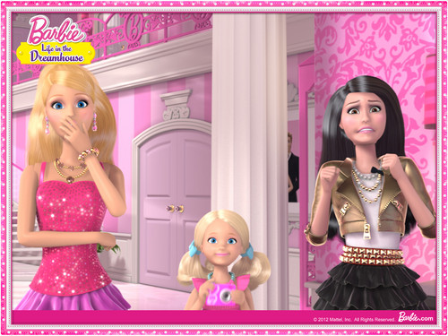 Barbie: Life in the Dreamhouse wallpaper titled Barbie Life In The Dream House