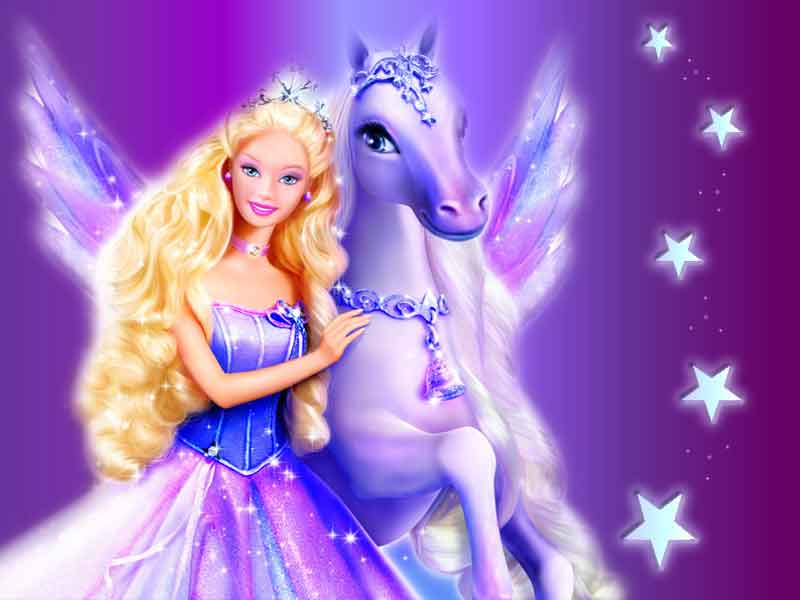 Barbie Magic Of The Pegasus Barbie Movies Wallpaper