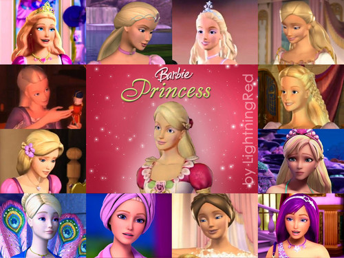 Barbie Princess (now + Keira)