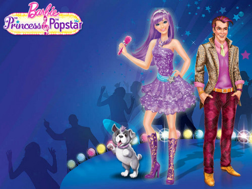 Barbie - La principessa e la popstar wallpaper called Barbie The Princess And The Popstar