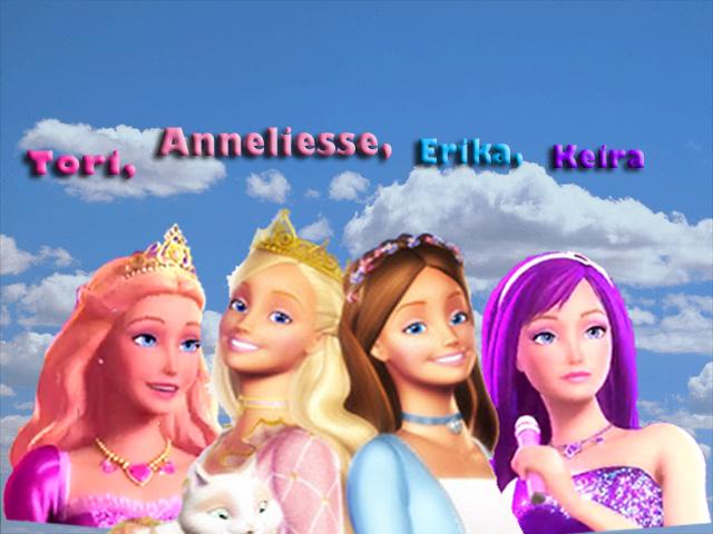 Barbie The princess Tori
