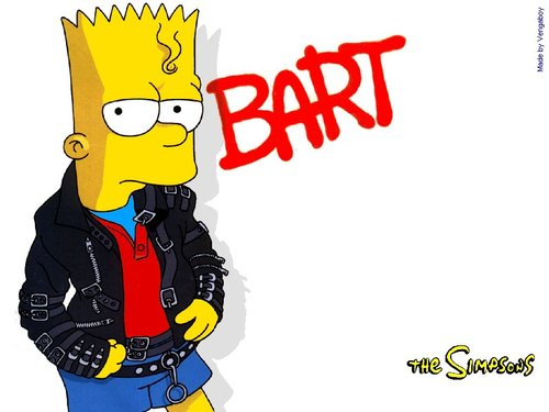 Bart Simpson as MJ
