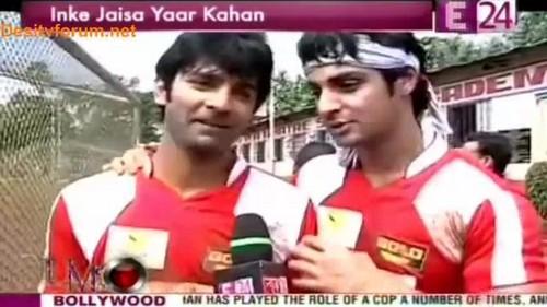 Barun with Karan Wahi
