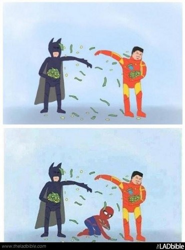 Batman & Iron Man