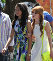 Bella Thorne and Zendaya in  in Los Angeles, California, 2012 - bella-thorne-and-zendaya photo
