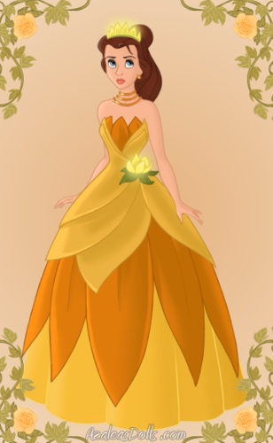 Belle as Tiana