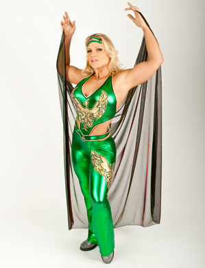 beth phoenix wallpaper titled Beth Phoenix Photoshoot Flashback