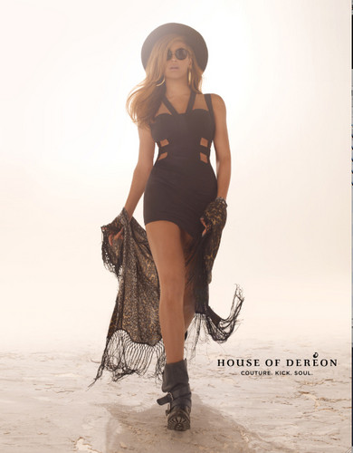 Beyoncé For House Of Dereon Fall 2012