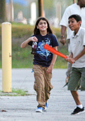 Blanket Jackson with his cousin Royal Jackson at Six Flags in illinois NEW August 28th 2012
