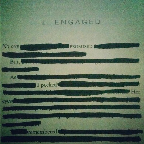 Breaking Dawn blackout poem