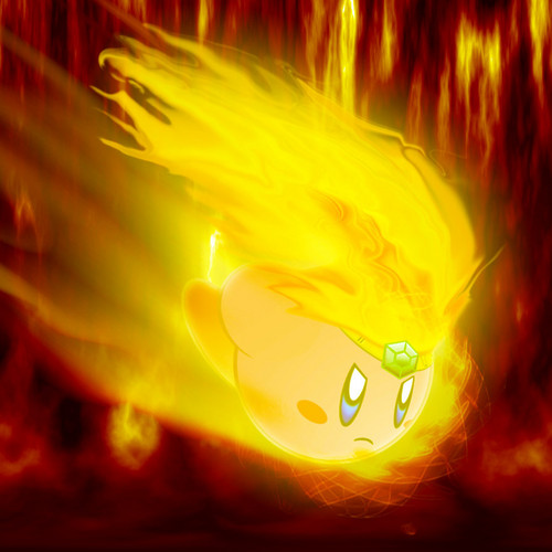 Burning Kirby