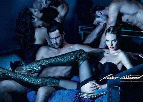 Candice @ Brian Atwood's campaign