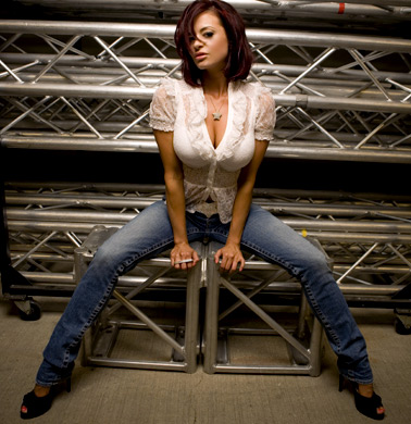 Candice Michelle 壁纸 called Candice Michelle Photoshoot Flashback