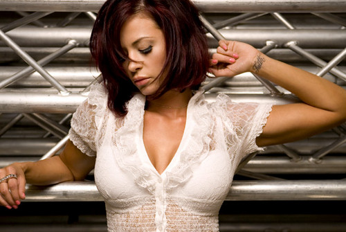 Candice Michelle Hintergrund possibly containing a bridesmaid and a cocktail dress called Candice Michelle Photoshoot Flashback