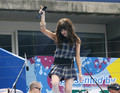 Carly Rae Jepsen at the Arthur Ashe Kids' day, Tennis center, 25 August 2012