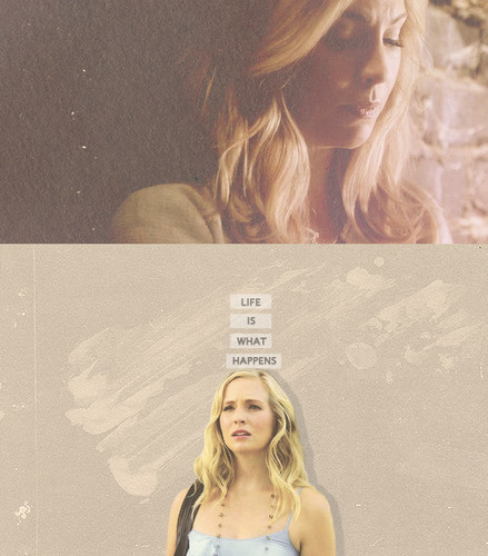 Caroline Forbes 壁紙 containing a portrait entitled Caroline Forbes