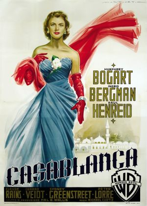 Casablanca wallpaper containing a dinner dress and a gown titled Casablanca
