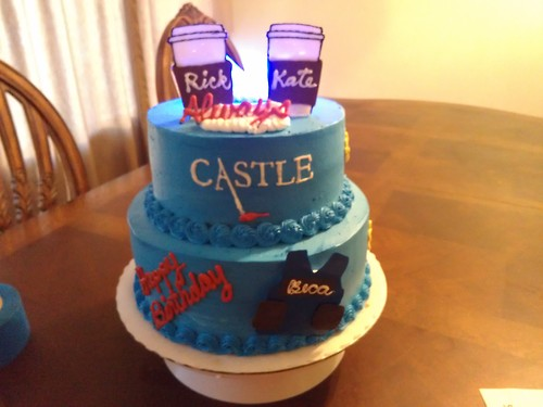 Cake Tv Show Us : Caskett Celebration Cake - Castle Photo (31952398) - Fanpop