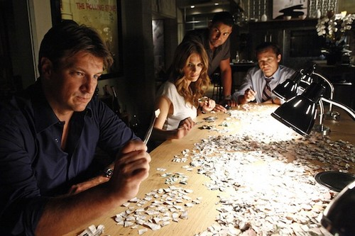Castle: The First bức ảnh of Season 5