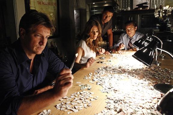 Castle: The First bức ảnh of Season 5