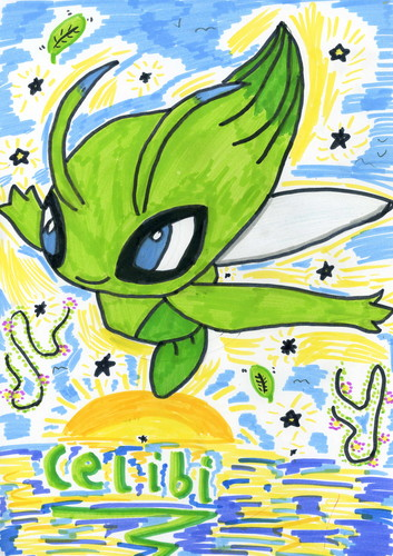 Celebi drawing