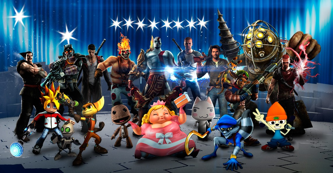 PlayStation All Stars Battle Royale Images Characters HD Wallpaper And Background Photos