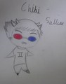 Chibi sollux - panda-hero photo