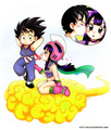 Chichi X Goku (kid)