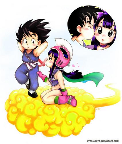 Chichi X गोकु (kid)