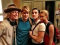 Chord on Glee set