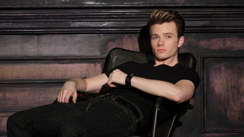 Chris Colfer vos, fox photoshoot 2012!